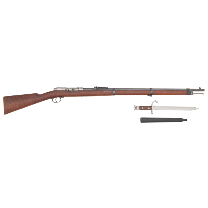 71/84 Mauser Bolt Action Military Rifle with Bayonet