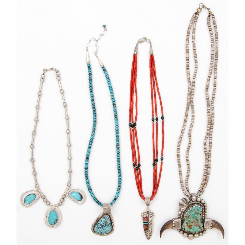 Navajo Silver Pendants PLUS