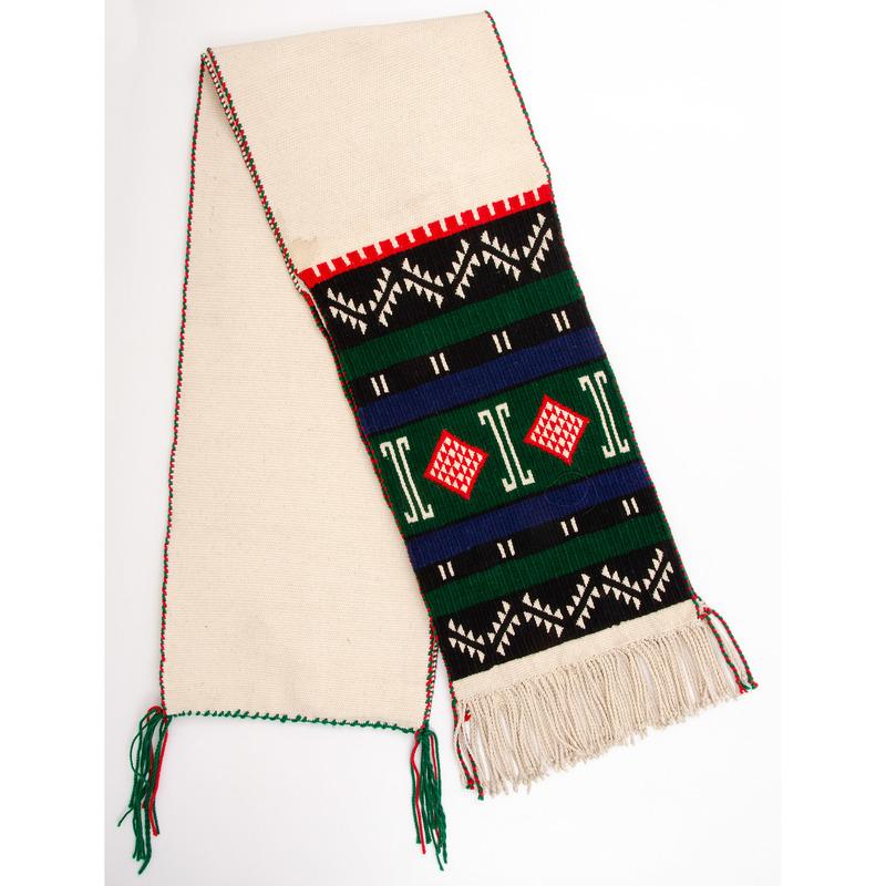 Herbert Masayestewa (Hopi, 20th century) Brocaded Dance Sash