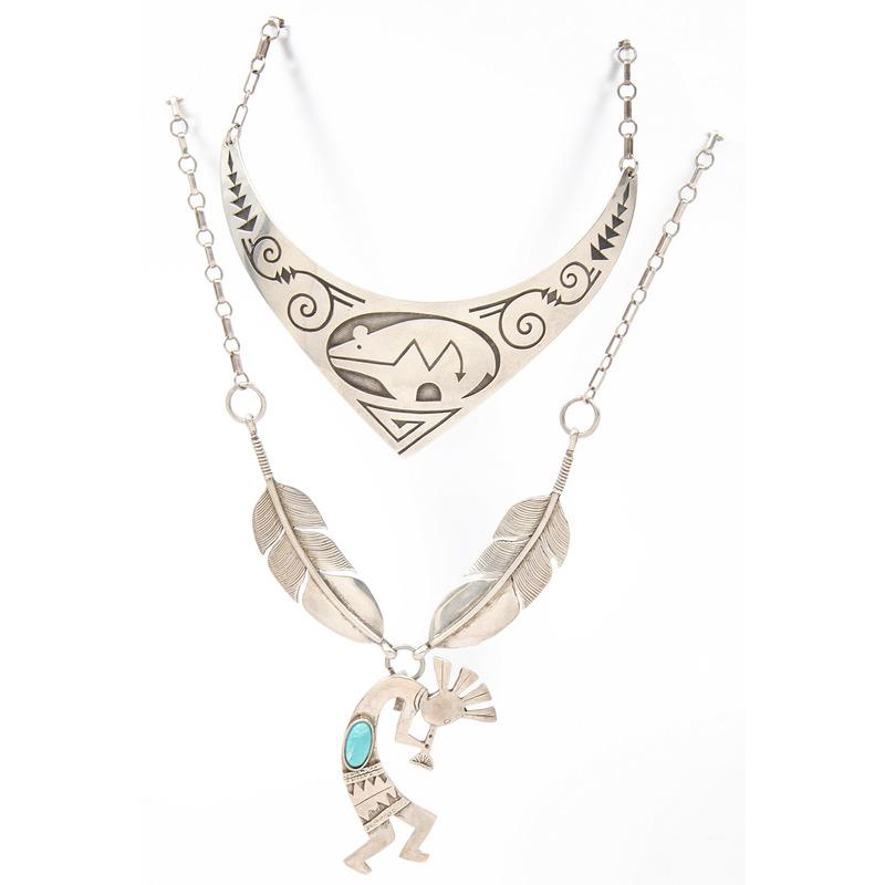 Navajo Sterling Silver Necklaces