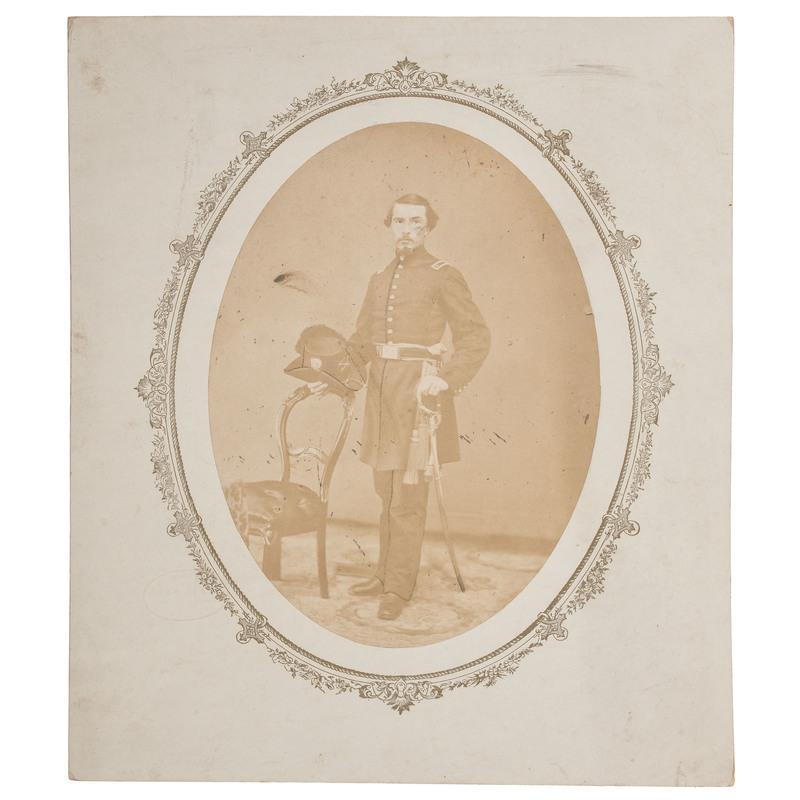 Civil War Photograph of a Michigan Cavalry Officer