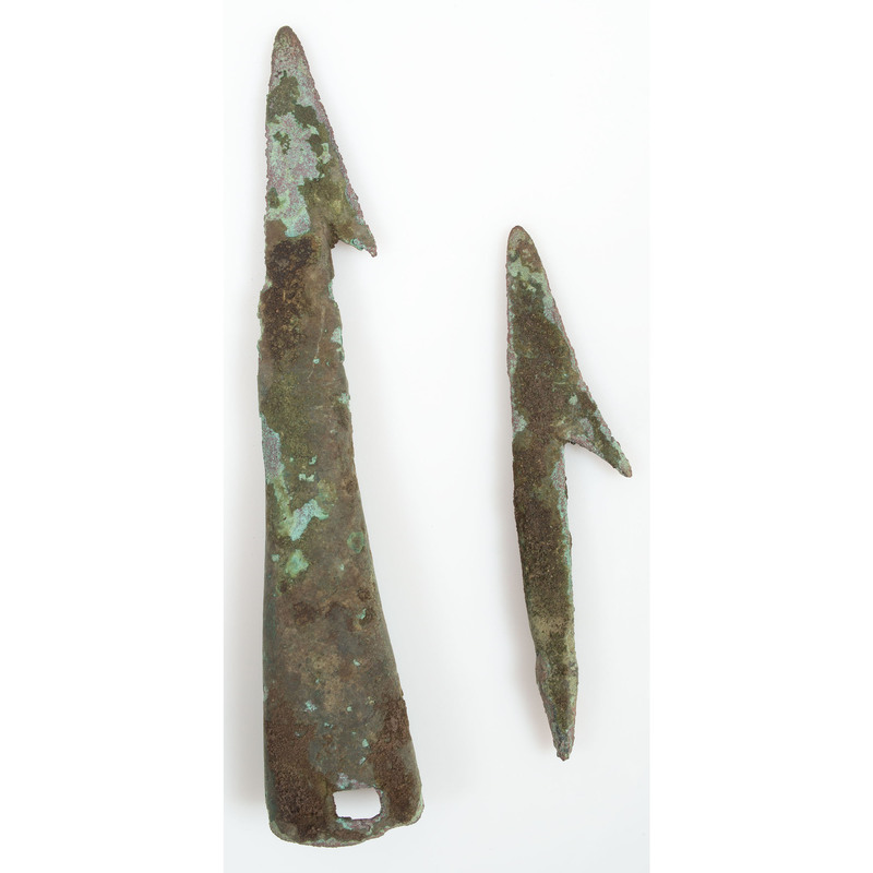 Old Copper Culture Harpoons,  From the Collection of Roger