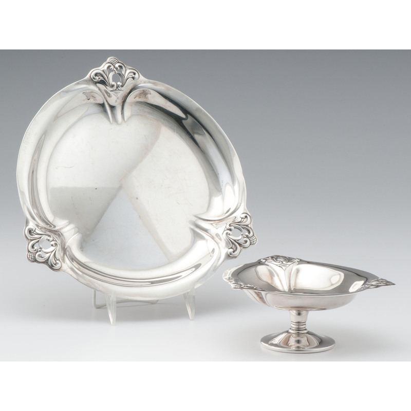 International Sterling Royal Danish Compote and Tray