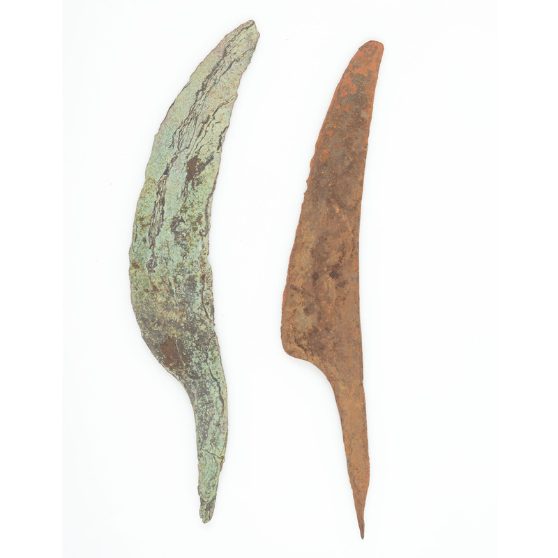 Old Copper Culture Spear Points, From the Collection of Roger