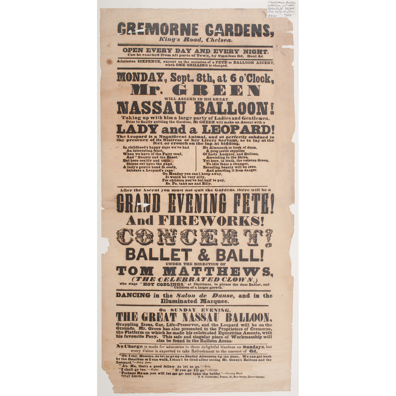 Early Balloon Ascent Broadside