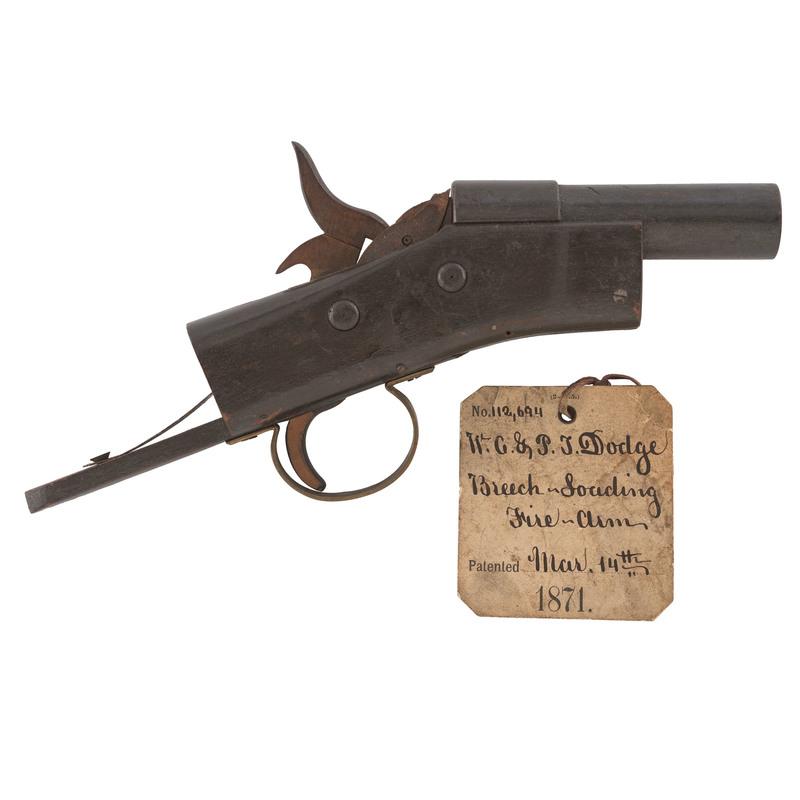 Patent Model By W.G. & P J. Dodge Breech-Loading Fire- Arm