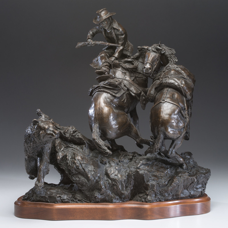 Rusty Phelps (American, b. 1936) Bronze Sculpture