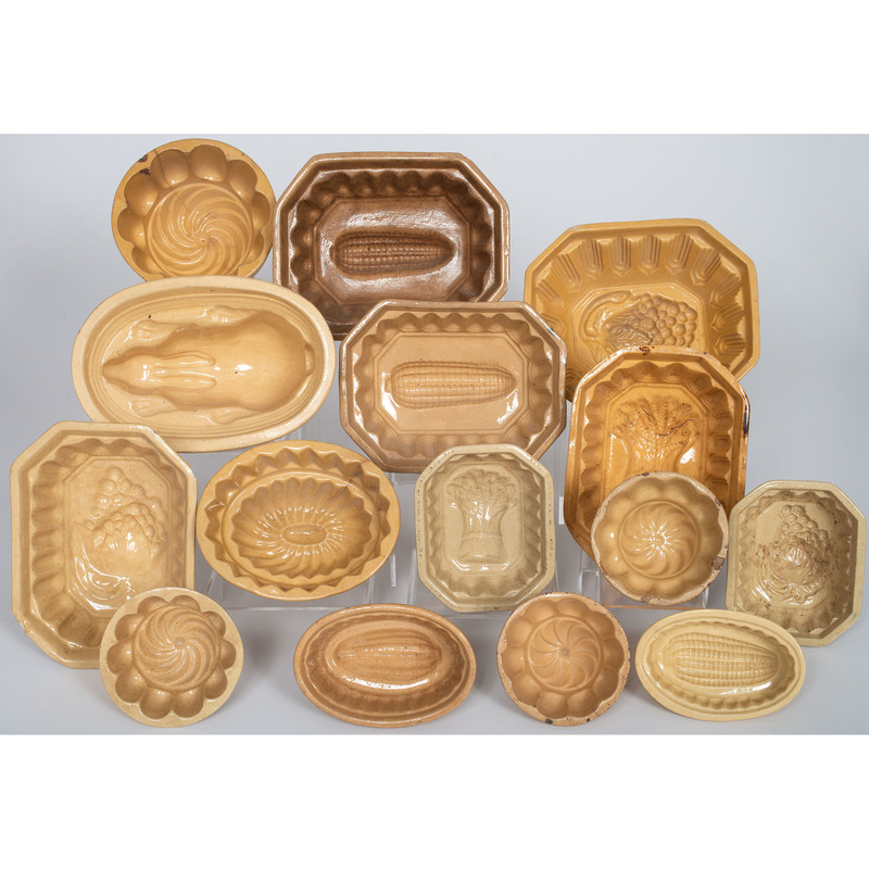Yellowware Molds