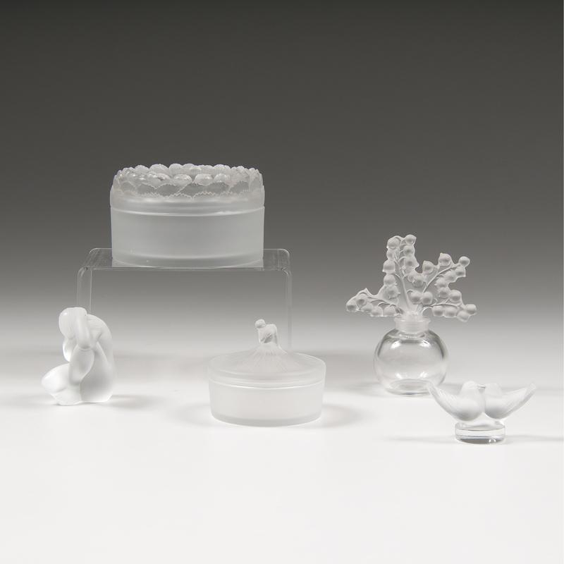 Lalique Crystal Pieces
