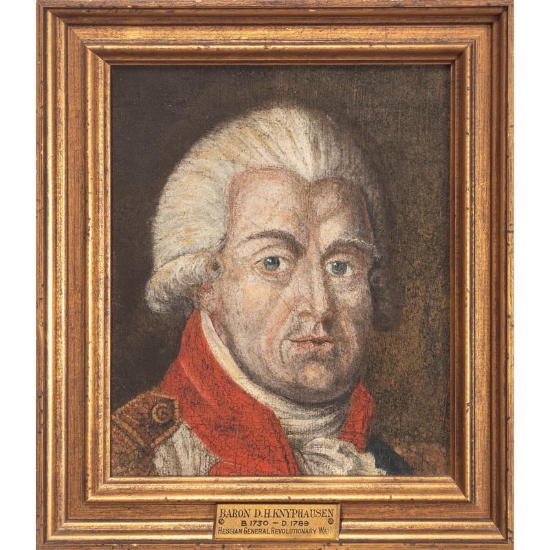 American School, Portrait of Revolutionary War Hessian General Wilhelm Von Knyphausen (1716-1800)