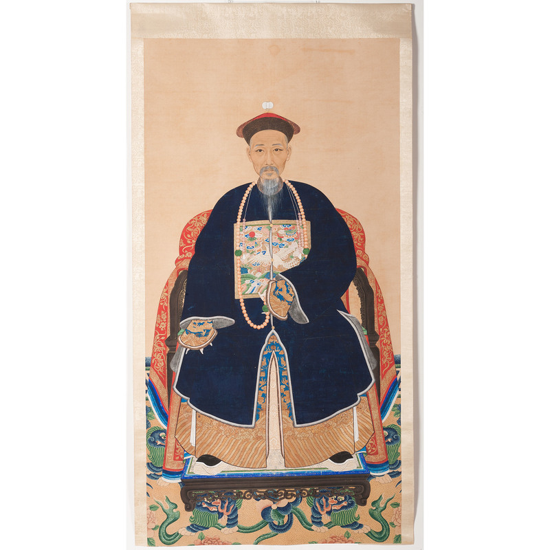 Chinese Imperial Scroll Portraits