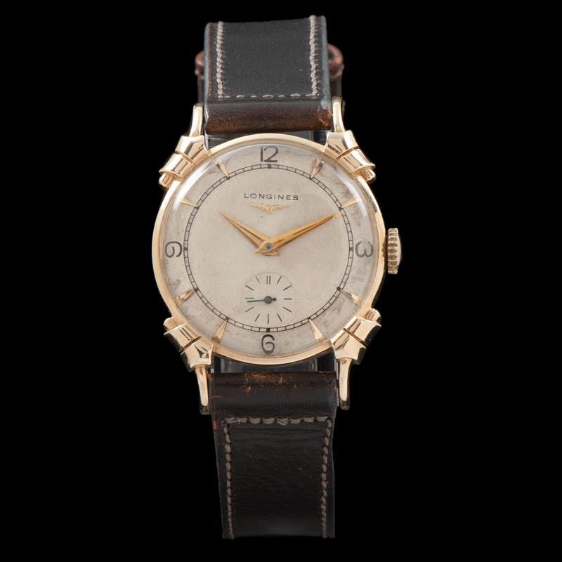 Longines Fancy Lug Wristwatch