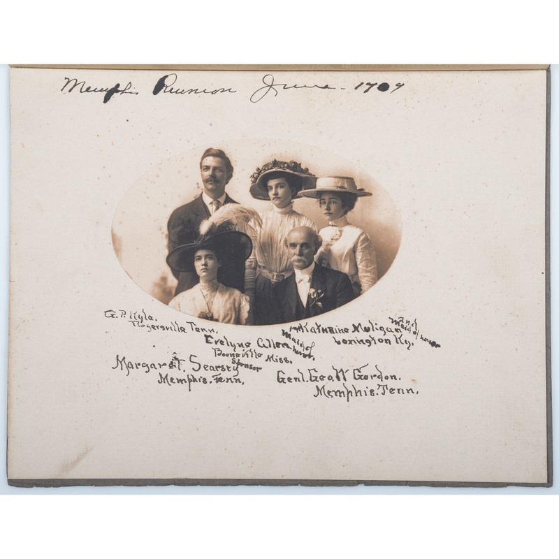 1909 UCV National Reunion Photographs