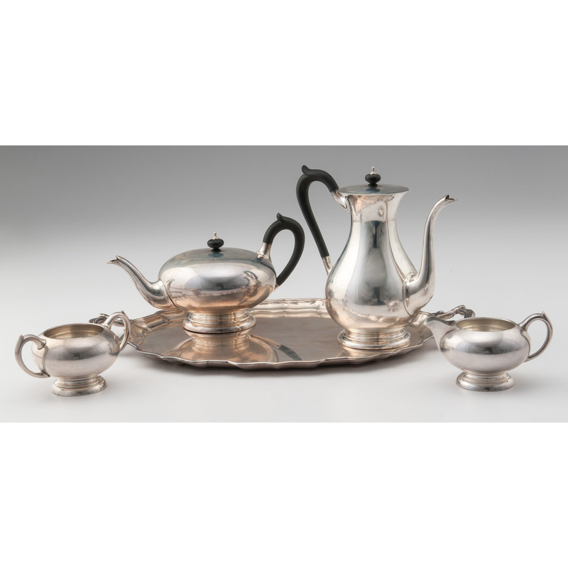 Birks Sterling Tea and Coffee Service