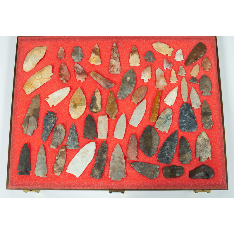 A Collection of Various Points and Blades,  From the Collection of Jon Anspaugh, Wapakoneta, Ohio