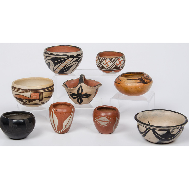 Collection of Pueblo Pottery for Your Shelf