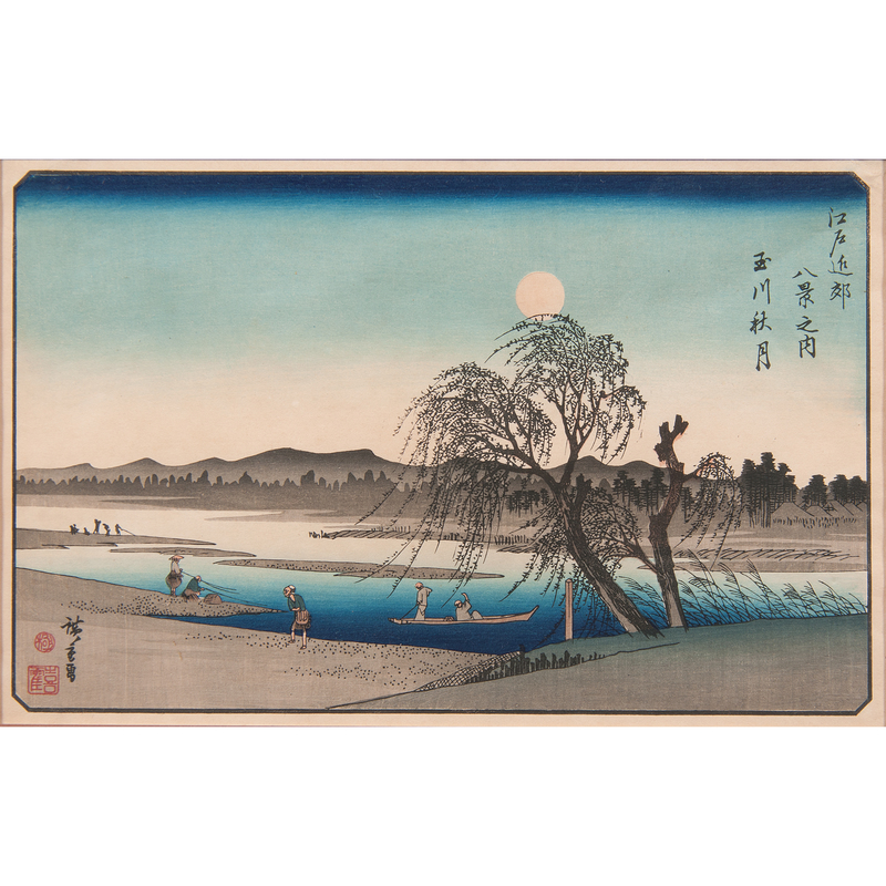 Japanese Woodblock Prints and Chinese Embroidery