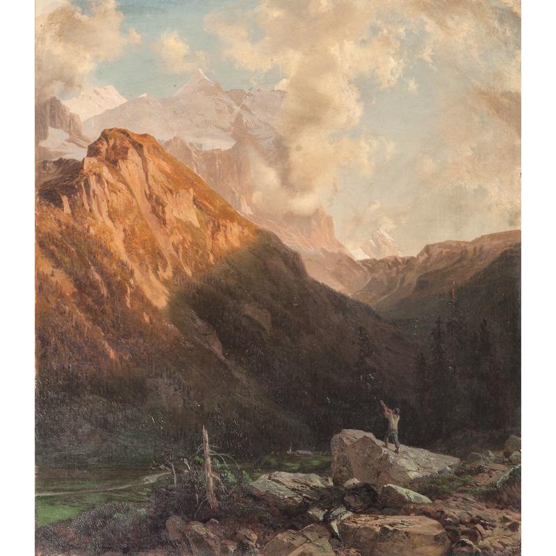 Johann Gottfried Steffan (Swiss, 1815-1905)