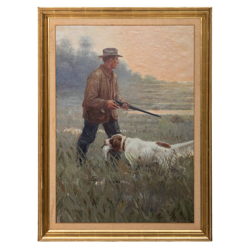 Frank Stick (American, 1884-1966) Oil on Canvas, From the James B. Scoville Collection