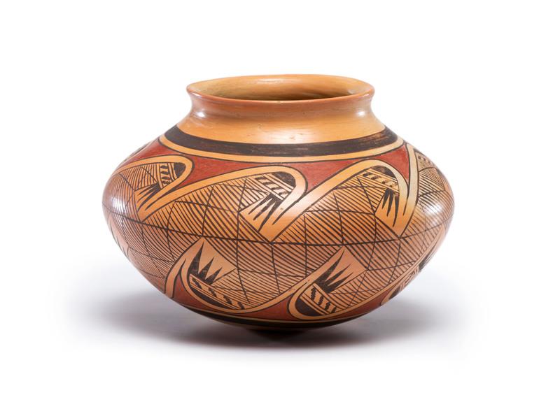 Fannie Polacca Nampeyo (Hopi, 1900-1987) Pottery Jar