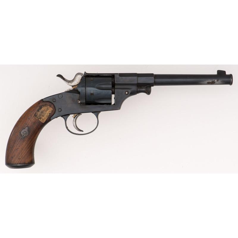 German Dreyse Model 1873 Reichs Revolver with Unit Markings