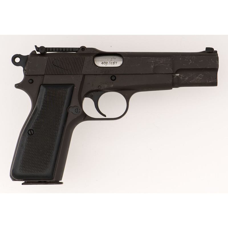 ** Canadian Inglis Browning Hi-Power Pistol