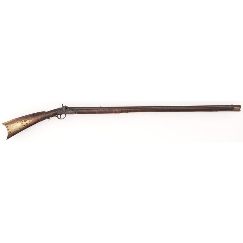 Full-stock Percussion Kentucky Rifle