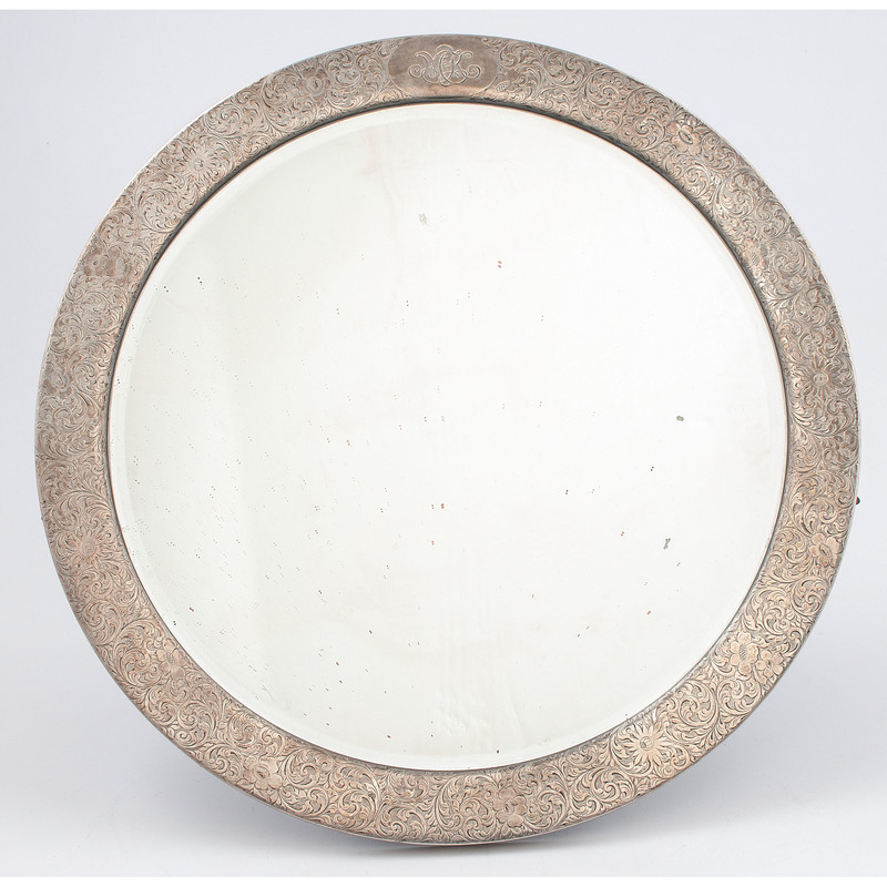Tiffany & Co. Sterling Vanity Mirror