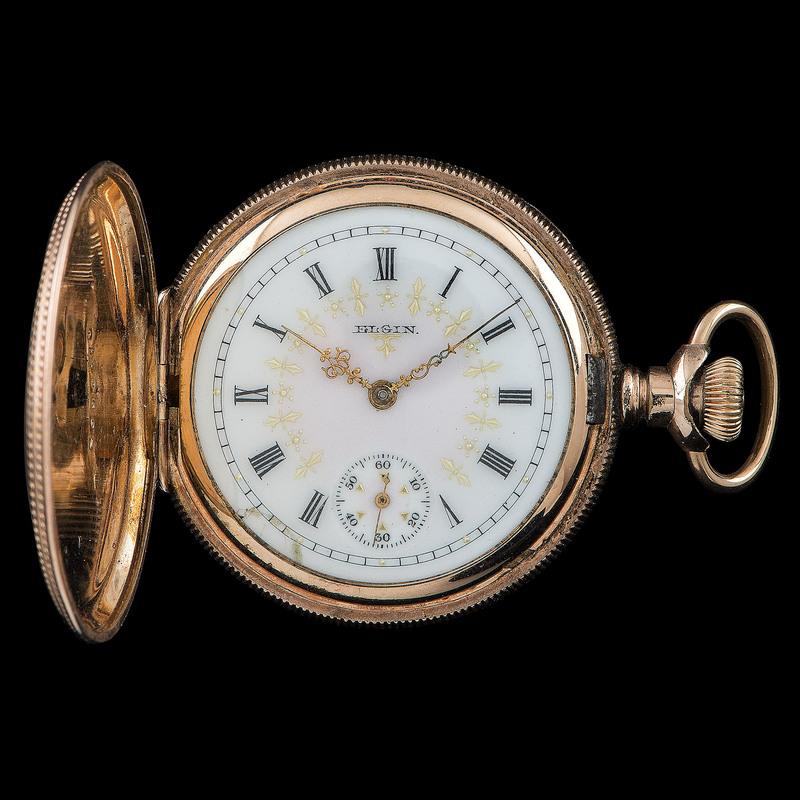 Elgin Gold-Filled Pocket Watch