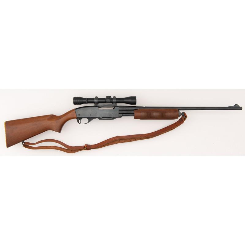 * Remington Model 760 Gamemaster Rifle with Scope