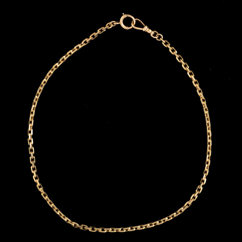 18k Gold Watch Chain