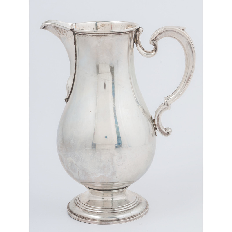 Currier & Roby Sterling Water Pitcher