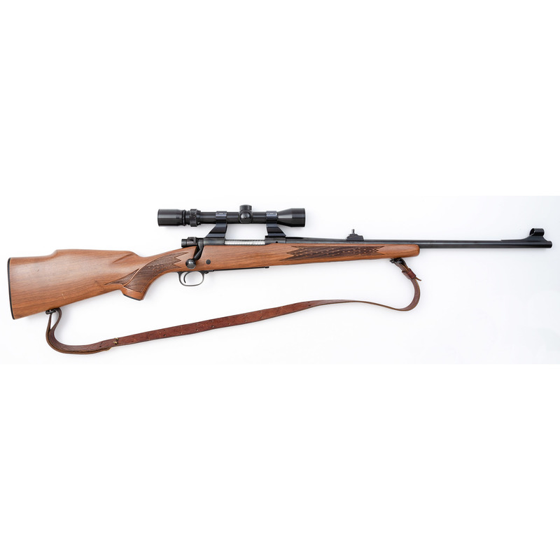 * Winchester Model 70 Rifle with Scope