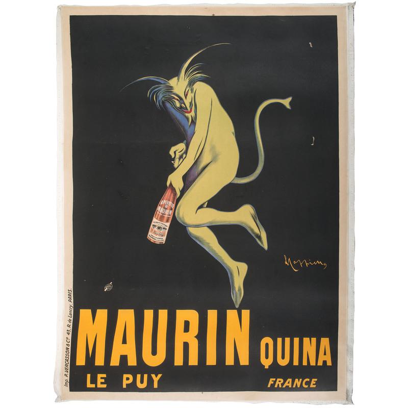 Leonetto Cappiello Maurin Quina Poster, Plus