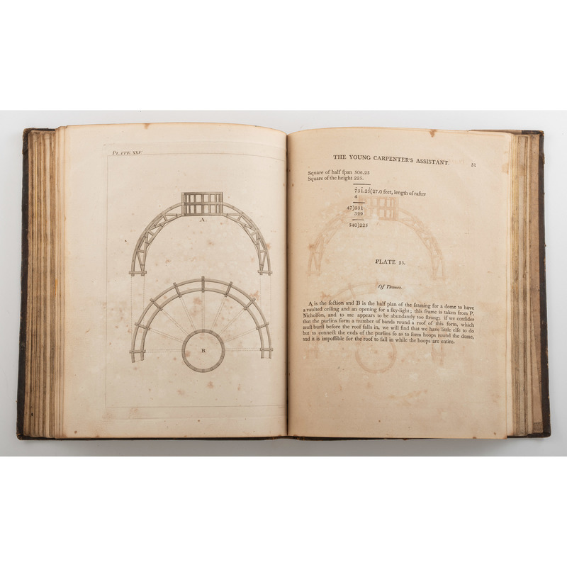 [Americana - Architecture] Rare First Edition of the Second