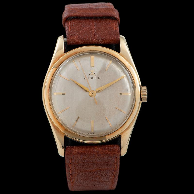 Gubelin 14k Gold Wrist Watch