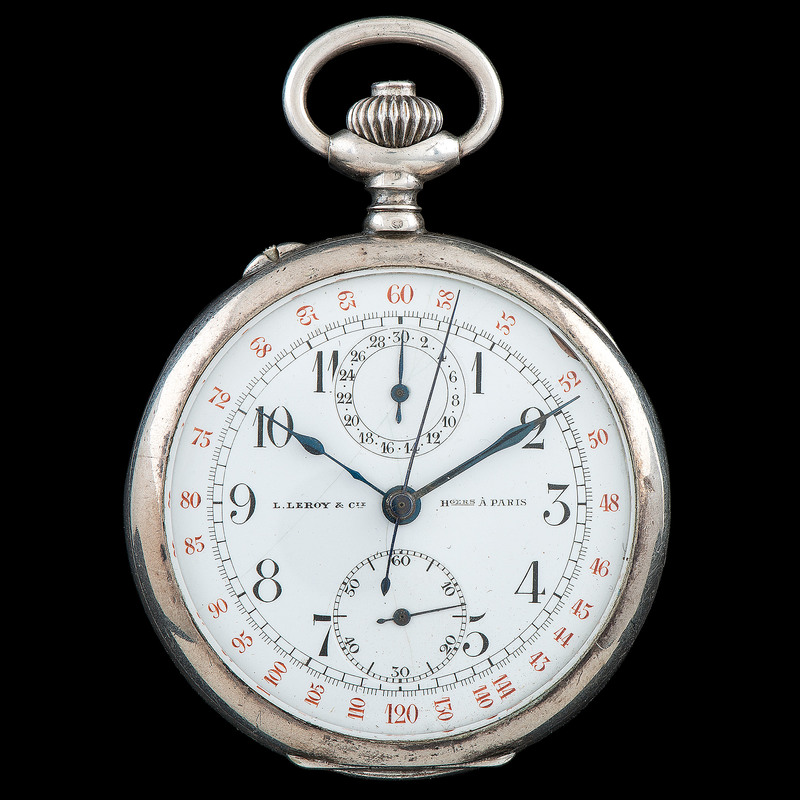 L.LeRoy & Cie Pocket Watch