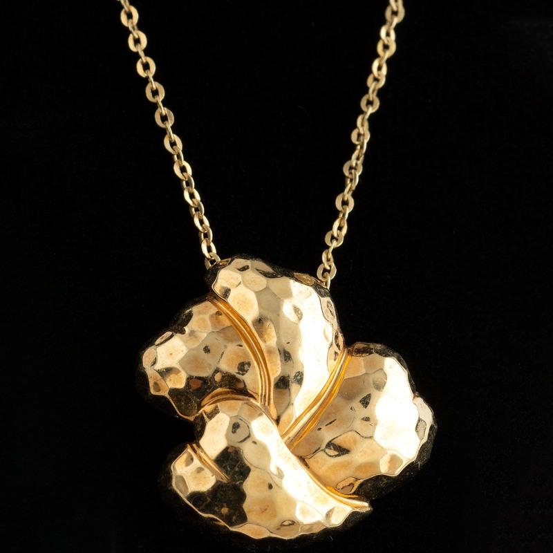 Henry Dunay 18k Gold Pendant Necklace