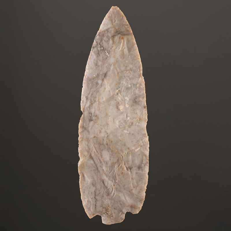 A Flint Ridge Adena Blade, Length 8-3/4 in.
