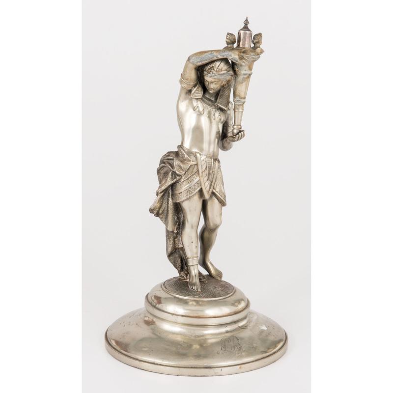 Meriden Brittania Co. Figural Cigar Lighter