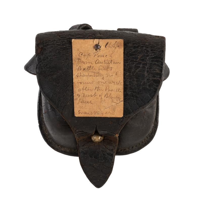 Union Cap Box from Antietam, 1862
