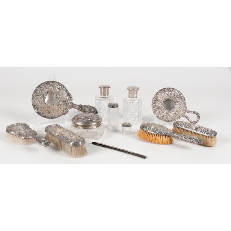 Gorham Sterling Silver Dresser Sets, Plus
