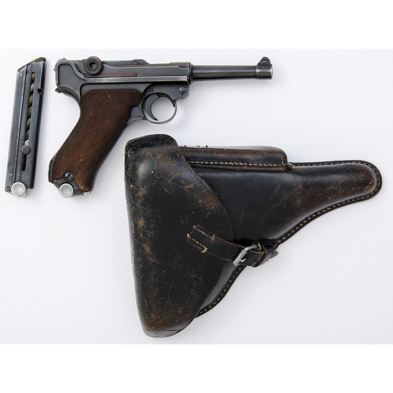 ** German Mauser P.08 Pistol with Holster