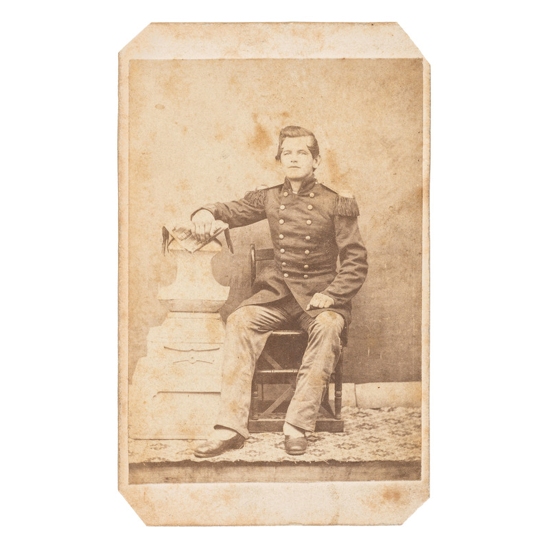 Rare Civil War CDV of a US Marine