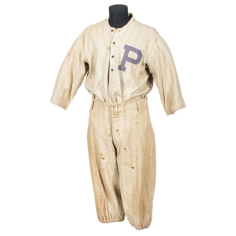 Ca 1915-1920 Away Baseball Uniform, Possible Philadelphia Phillies