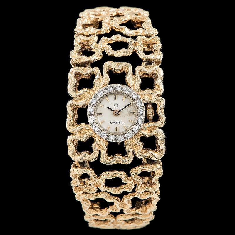 14k Gold Omega Watch