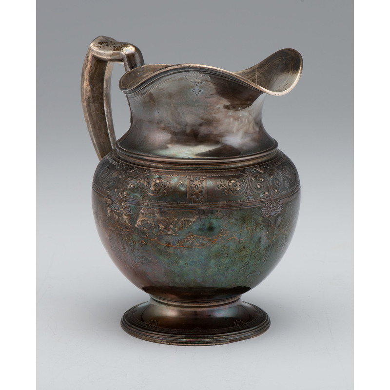 Lebkuecher & Co. Sterling Water Pitcher