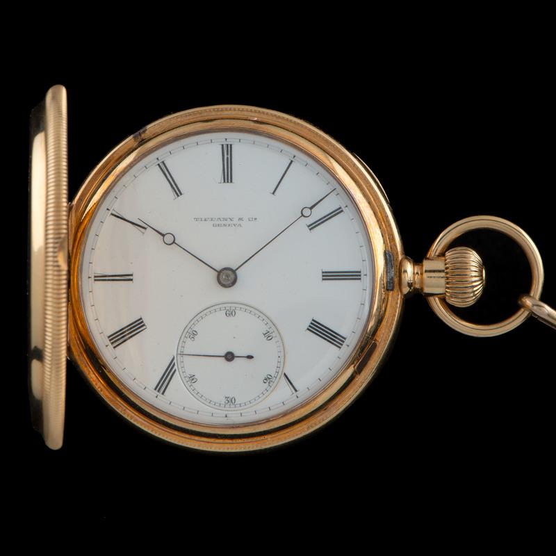 Tiffany & Co. 18k Gold Pocket Watch