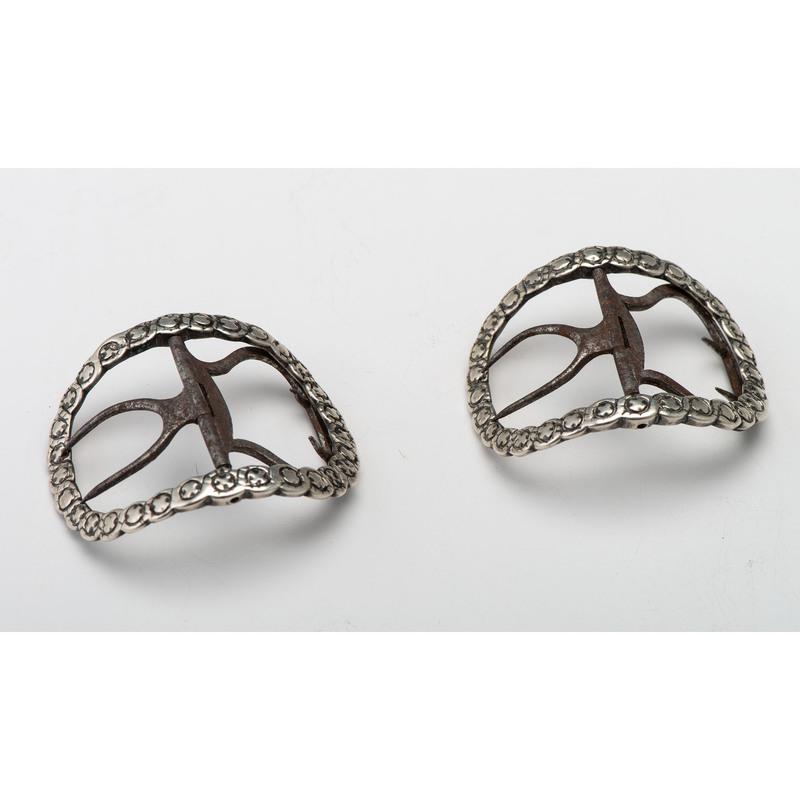 American Silver Shoe Buckles