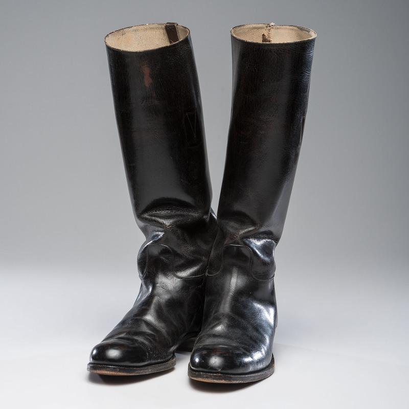 British Officer's Dress Boots, ca. 1950